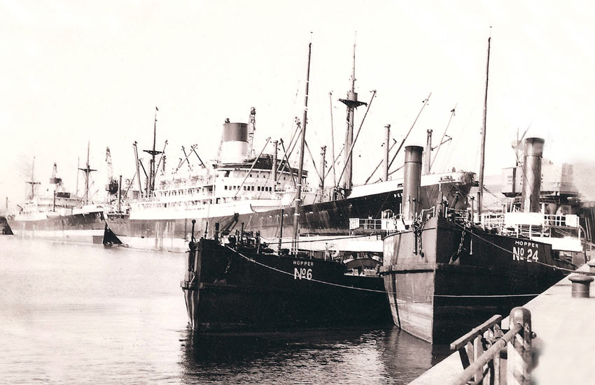 Blue Funnel Line Photographs Capt Robert Arfon Jones